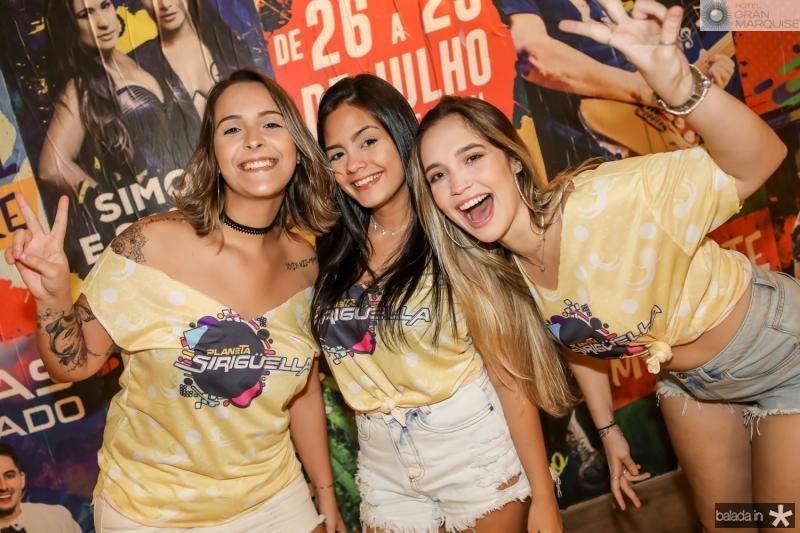 Carol Porto, Jade Melo e Gabriela Magalhaes