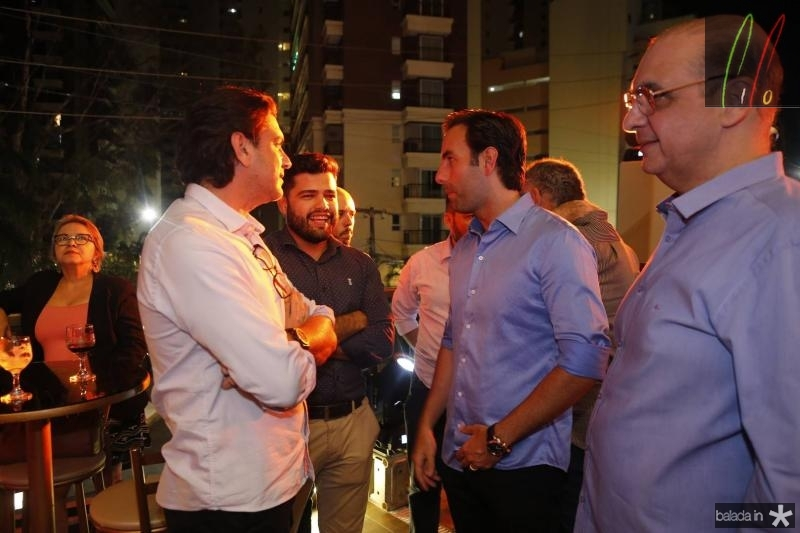 Romulo Santos, Meudo Claro, Vitor Frota e Walder Ary