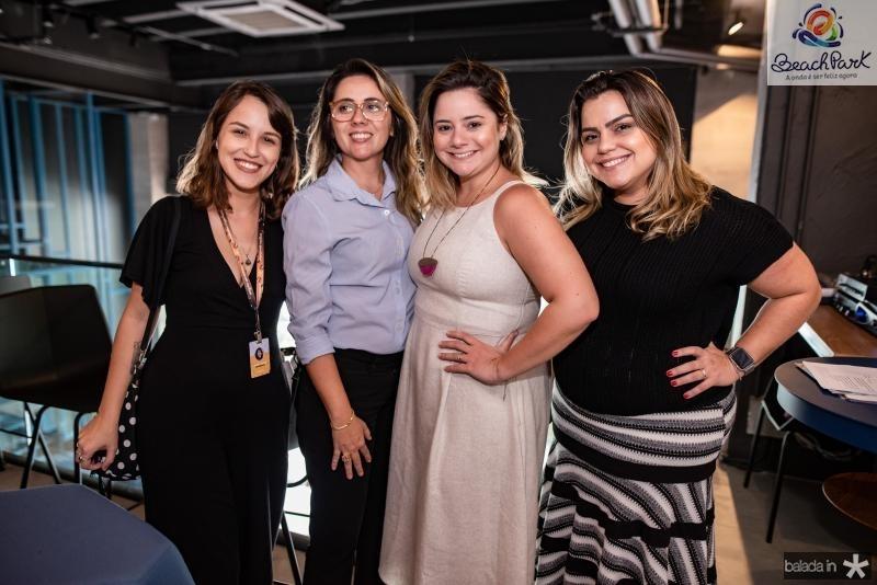 Beatriz Caldas, Erica Catunda, Karla Rodrigues e Renata Benevides