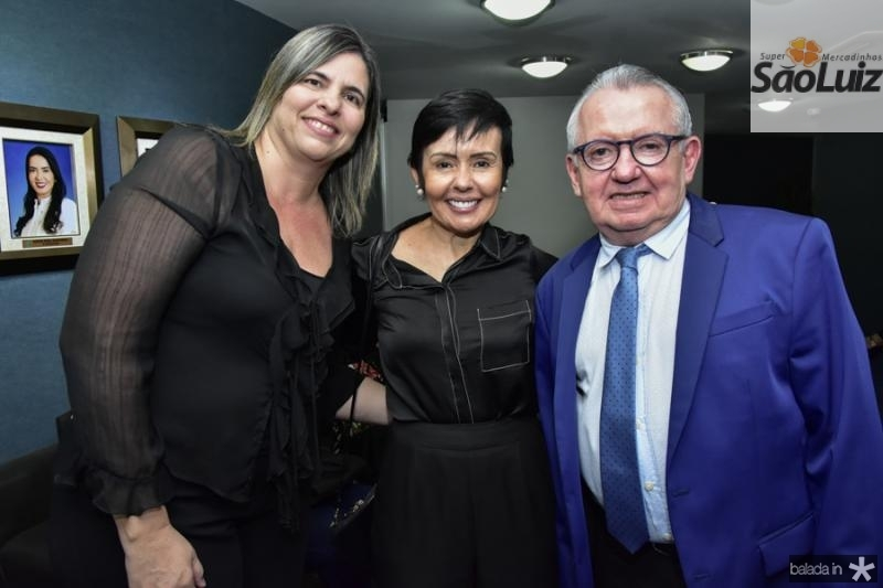 Ana Cristina Marques, Elana Farias e Henri Campos