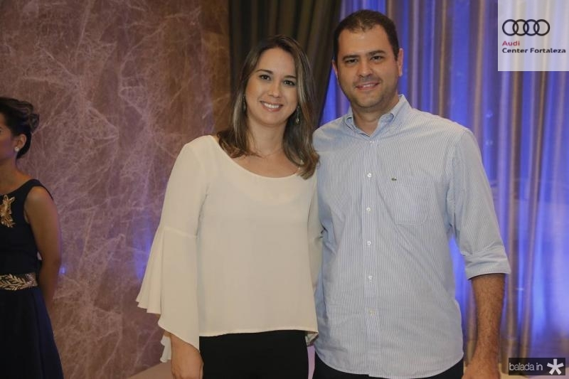 Mara Araujo e Fabiano Porto