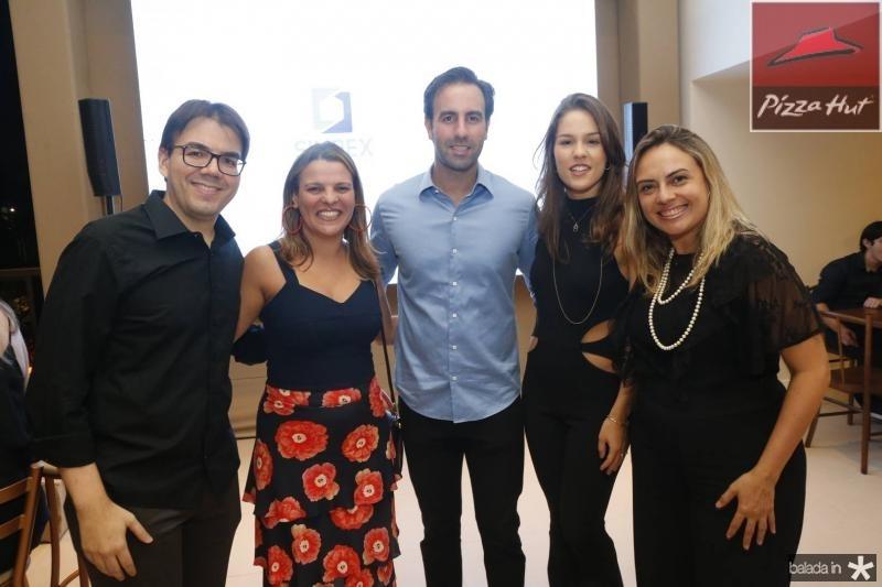 Gustavo Rocha, Ivana Pimentel, Vitor e Dani Frota e Monica Vieira