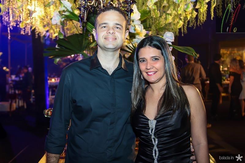 Tiago Ribeiro e Viviane Vasconcelos