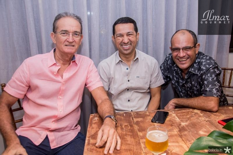 Ricardo Brasil, Lagildo Brasileiro e Rodrigo Sales