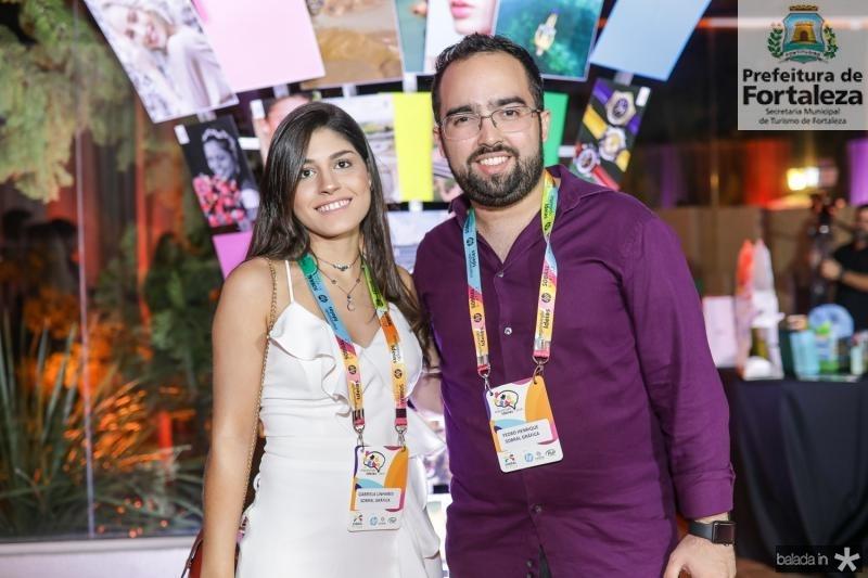 Gabriela Linhares e Henrique Pontes