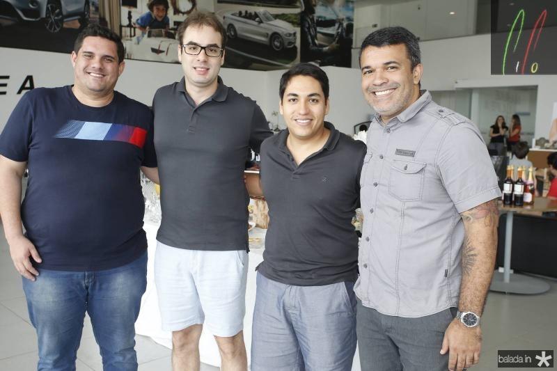 Augusto Cesar, Silvio Albuquerque, Pier Pittelli e Rodrigo Patriota