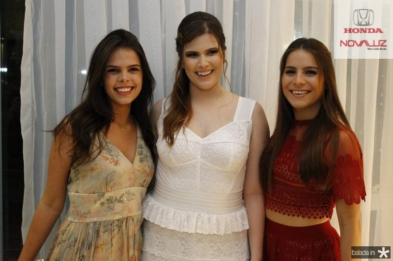 Maria Isabel Miranda, Ana Maria e Lara Linhares