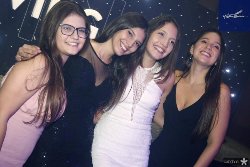 Natalia Almeida, Amanda de Bernardi, Livia Madeira e Emily Lopes 1