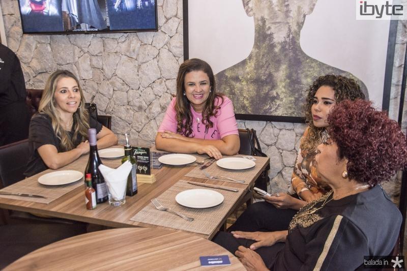 Selene Rolim, Georgia Duarte, Thais Pereira e Selma Pereira
