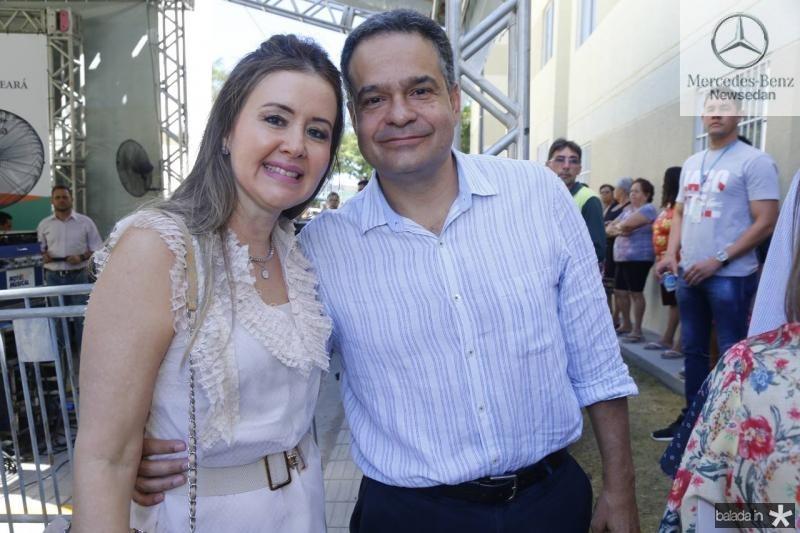 Liana Fujita e Paulo Henrique Lustosa