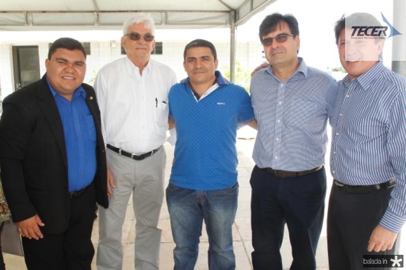 Franck Ferreira, Assis Machado, Gilberto Papai, Fernando Facanha e Stelio Frota