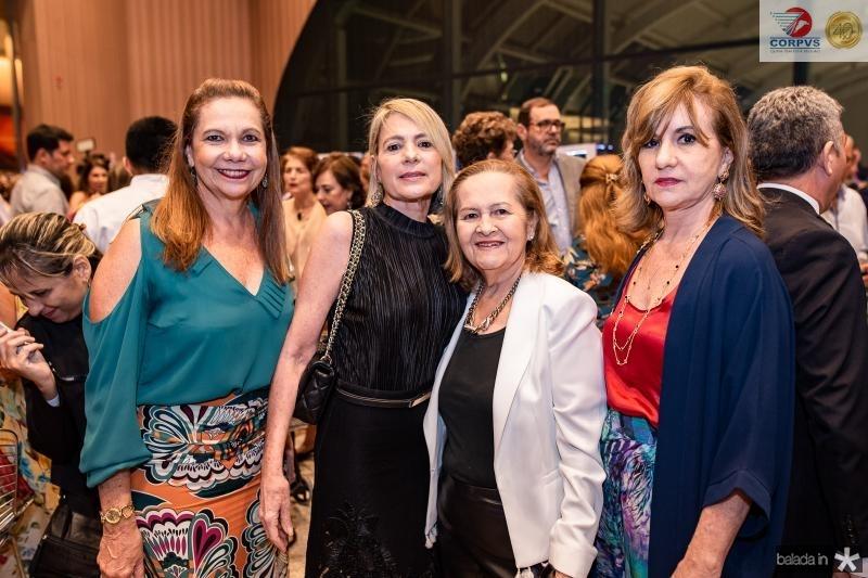 Rose Batista, Bel Machado, Maria Claudia Alves e Cristina Barreira