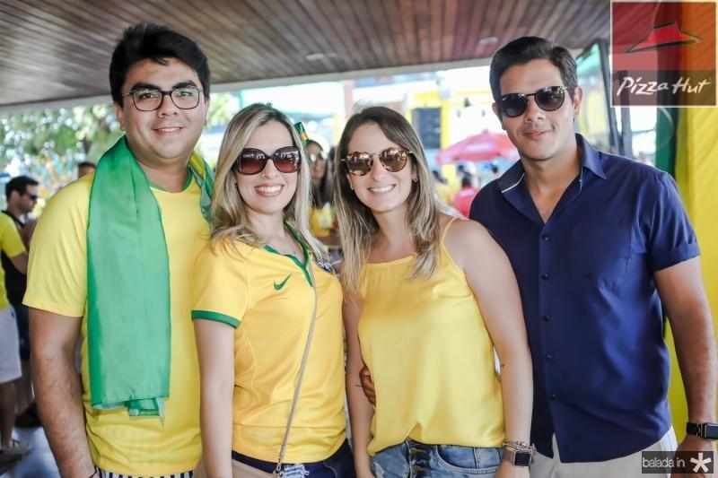 Rolf Campos, Emanoele Sousa, Juliana Bortoluto e Jader Oliveira