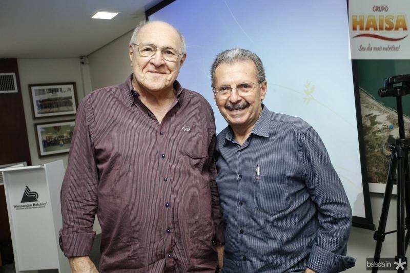 Luiz Marques e Egydio Serpa