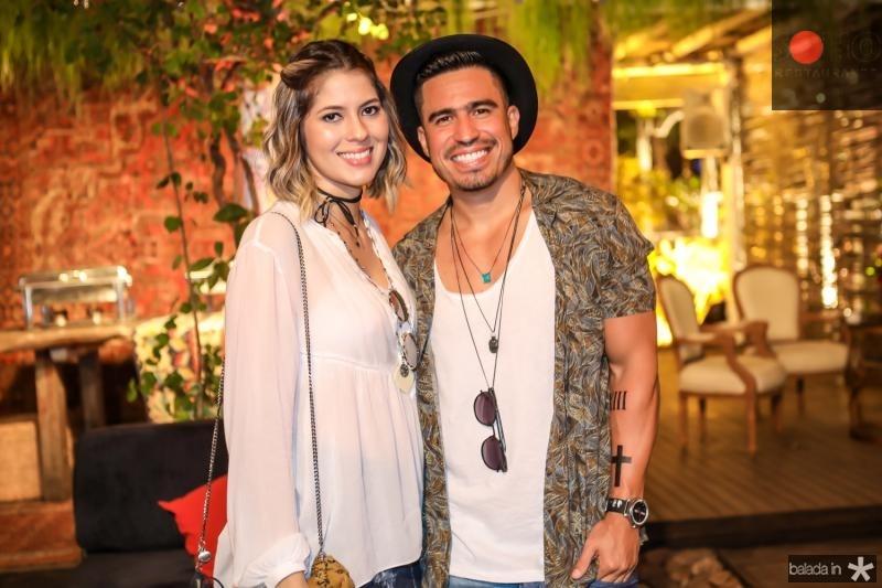 Natasha Melgaço e Ivo Browm