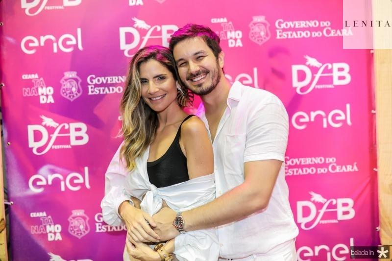 Paula Villas-Boas e Levi Castelo Branco