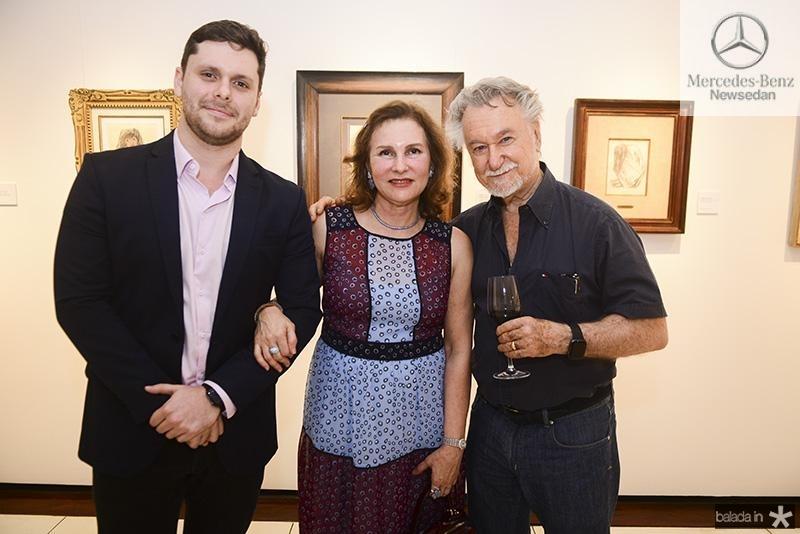 Victor Perlingeiro, Renata Jereissati, Joao Candido Portinari