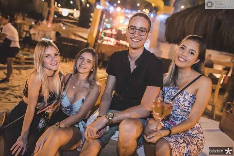 Rebeca Rocha, Eveline Viana, Iago Mascarenas e Suyane Barbosa
