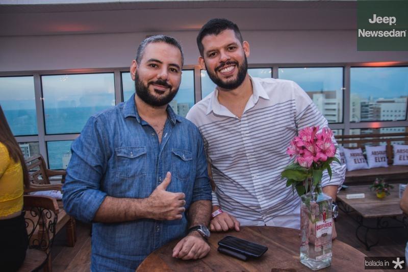 Berreto Filho e Icaro Araujo