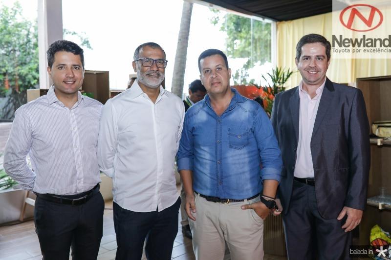 Marcelo Firmino, Ronald Lopes, Rafael Gazullo e Fernando Siqueira