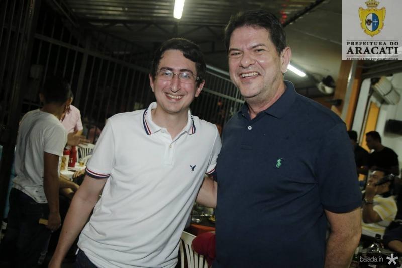 Roberto Victor e Cid Gomes