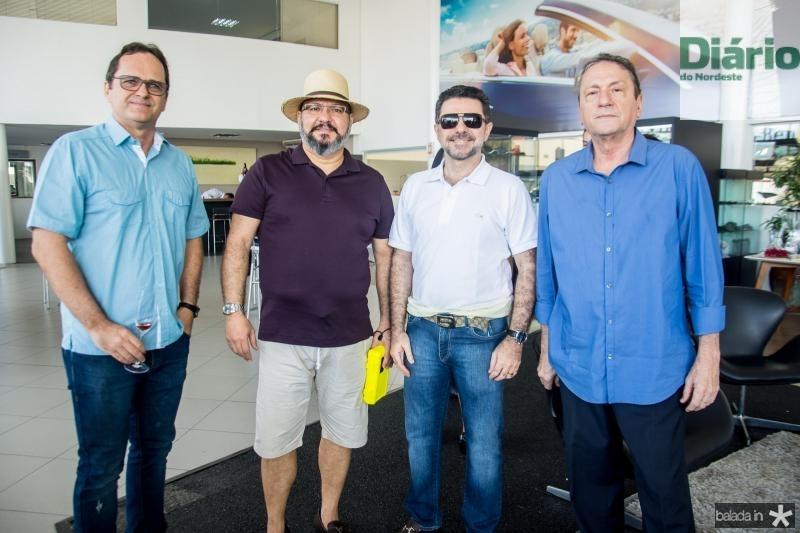 Alexandre Fialho, Romulo Lobo, Isaac Furtado e Marcos Vale
