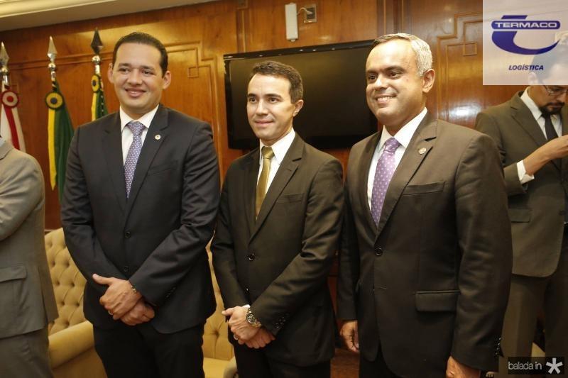 Danniel Oliveira, Placido Rios e Marcelo Mota