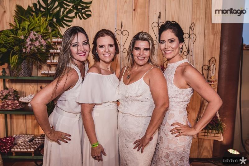 Sulamita Oliveira, Renata Lea, Gisele Padua e Sylvia Leal