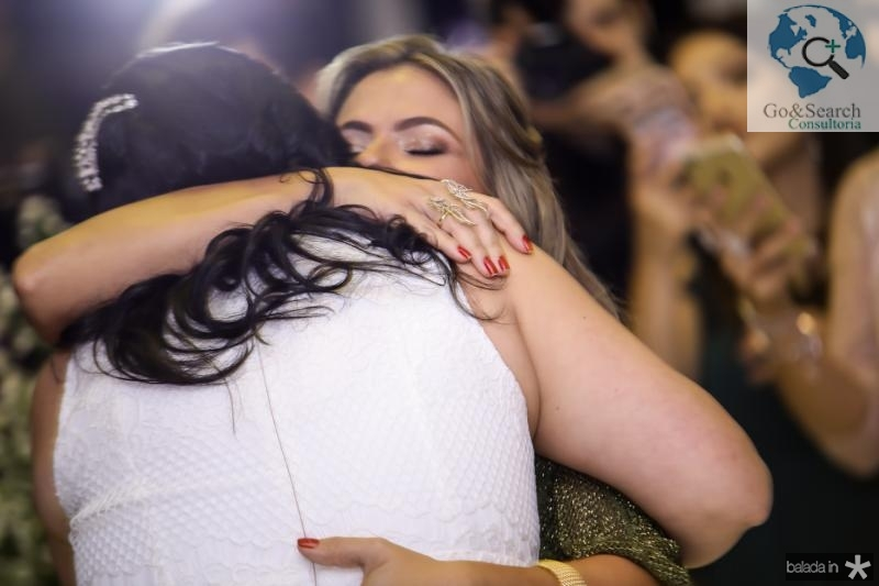 Vivia Almada e Vanessa Queiros