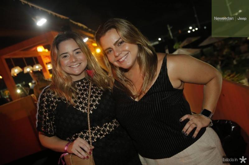 Karla Rodrigues e Renata Benevides