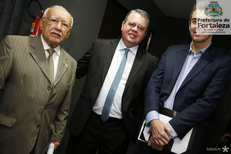 Ubiratan Aguiar, Fabio Campos e Geraldo Luciano