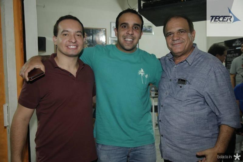Fabio Moreira, Rafael Nobre e Roberto Moreira