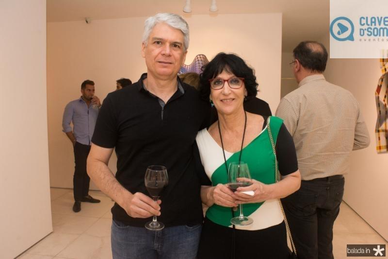 Leonardo Leal e Denise Mattar