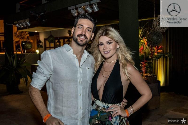 Rafael Magal e Natasha Brigido