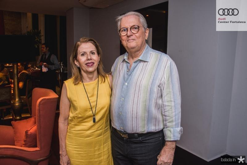 Glaucia e Carlos Castelo Branco