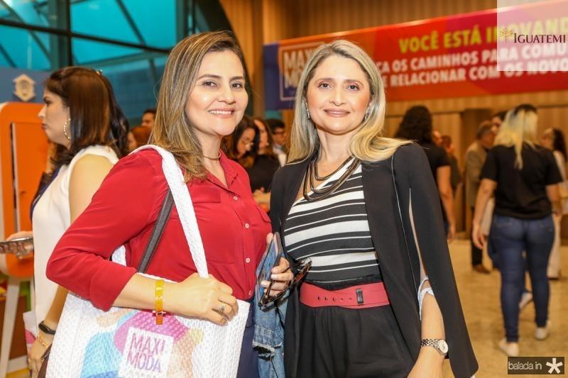 Cenira Maia e Elisangela Baldesar