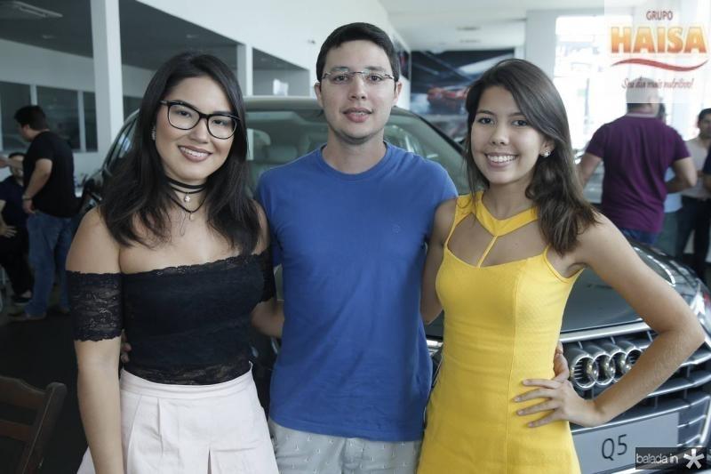 Jade Pinheiro, Victor e Natalia Fontenele
