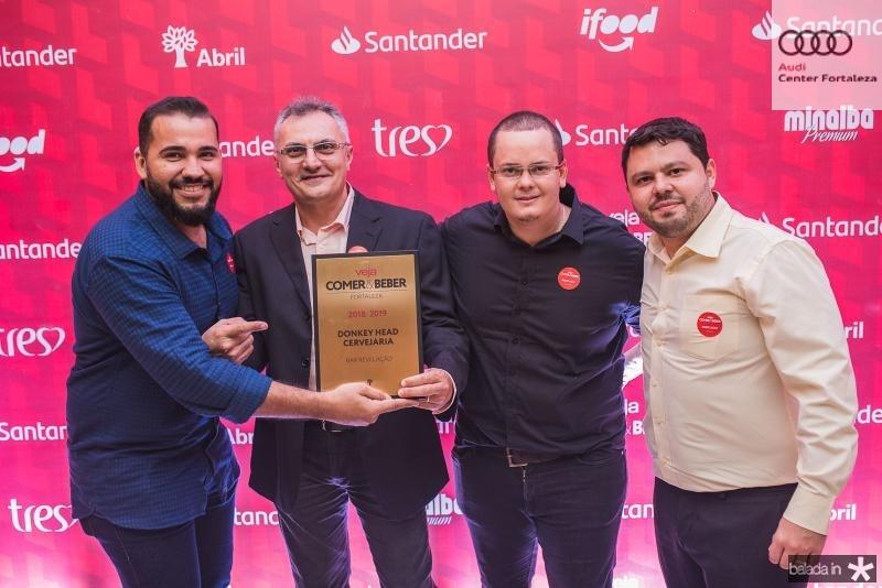 Caleb Sousa, Anizio Queiroz, Junior Sales e Fabio valente
