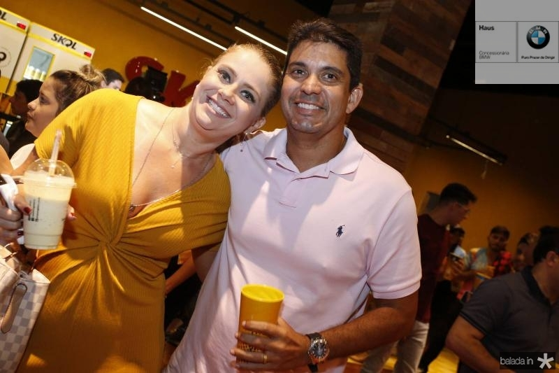 Soyanne Lopes e Victor Mantega