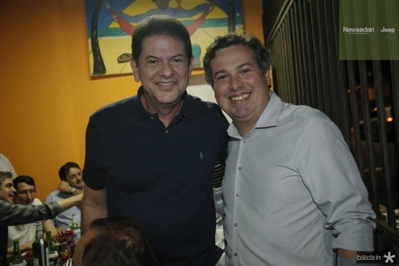 Cid Gomes e Samuel Dias