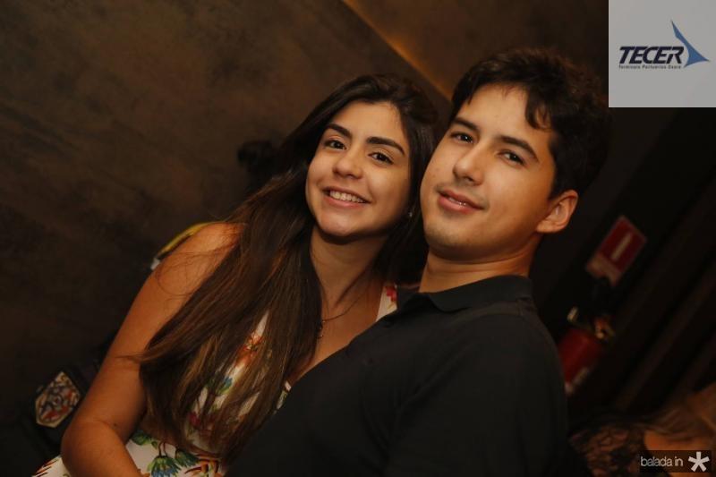 Camille Arrais e Caio Diniz