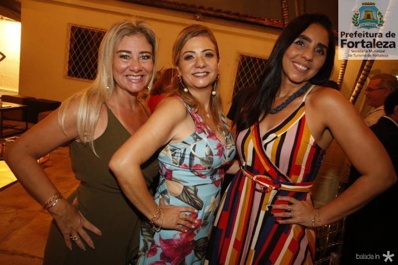 Luciana Silva, Simone Cardoso e Cristiane Nascimento