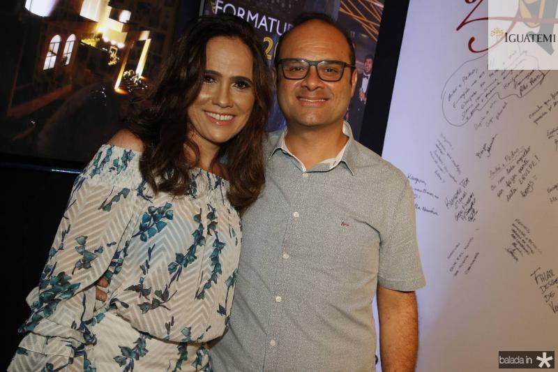 Claudia e Daniel Fiuza