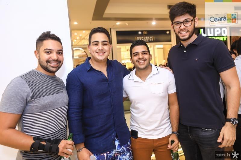 Gustavo Morais, Rafael Pinto, Gabriel Sabimo e Pedro Fernandes