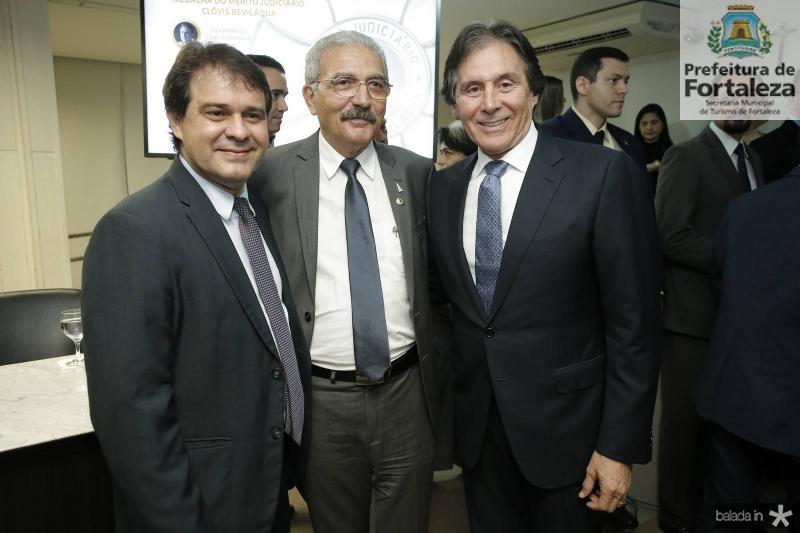 Evandro Leitao, Walter Cavalcante e Eunicio Oliveira