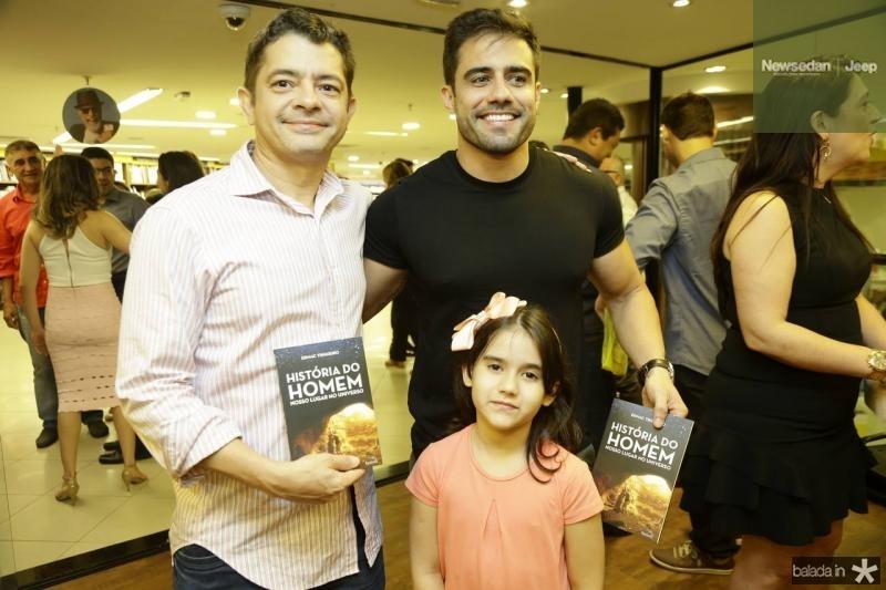 Licio Justino, Helder e Alice Braga