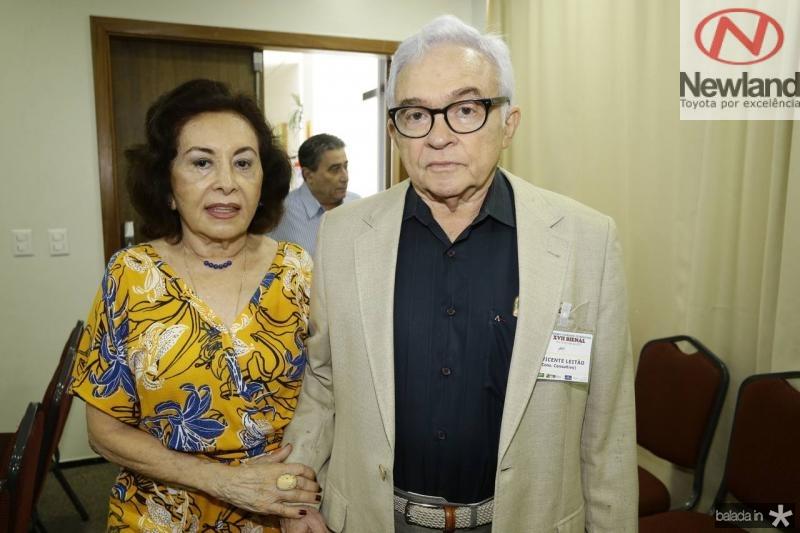 Ericina e Vicente Leitao