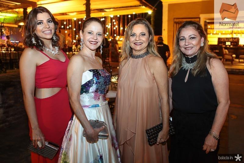 Carolina Barano, Claudiana Juacaba, Vera Passos e Dionisia Robeiro