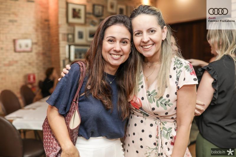 Claudiana Loureiro e Aline Amorim