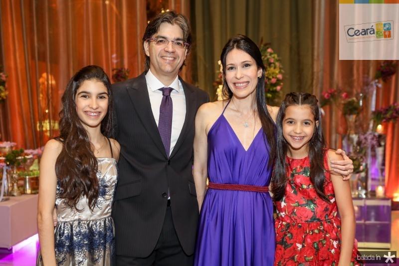 Marina, Marcelo, Catarina e Luiza Jaco